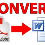 آموزش تبدیل PDF به Word (آنلاین و آفلاین)